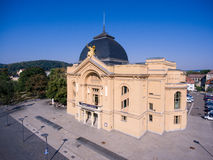 Theatre gera aerial view town tourism architecture Royalty Free Stock Image