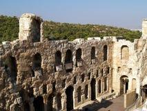 Theatre of Herodus Atticus, Athens Royalty Free Stock Photos