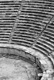 Theatre in Hierapolis. Roman theatre in Hierapolis, Turkey royalty free stock images