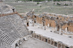 Theatre, Hierapolis, Pamukkale, Turkey Stock Photography
