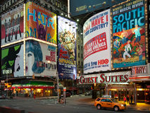 Theatre hoardings Royalty Free Stock Photos