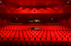 Theatre interior. Interior of the Agora theater in Lelystad, the Netherlands Stock Image