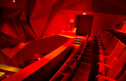 Theatre interior Royalty Free Stock Photography
