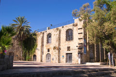Theatre,Jaffa streets Royalty Free Stock Photo