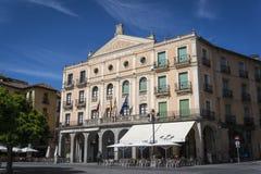 Theatre Juan Bravo, Segovia, Castilla y Leon, Spain stock photo