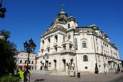 Theatre in Kosice. Royalty Free Stock Photo