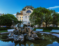 Theatre in Kosice Stock Photography
