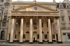 Theatre Królewski Haymarket Londyn Fotografia Stock