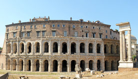 Theatre of Marcellus Stock Photo