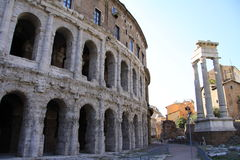 Theatre of Marcellus Royalty Free Stock Photography