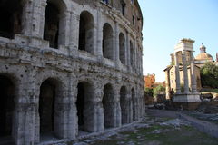 Theatre of Marcellus Stock Images