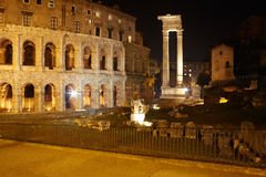 Theatre of Marcellus , Rome Royalty Free Stock Image