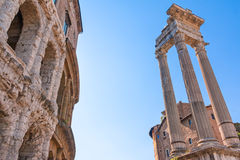 Theatre of marcellus Royalty Free Stock Photo