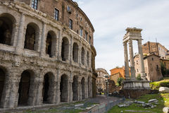 Theatre of Marcellus Stock Photography