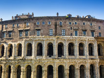 Theatre of Marcellus in Rome Stock Images