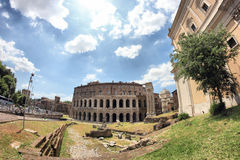 Theatre Marcellus, Rome, Italy Stock Images