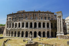 Theatre of Marcellus Stock Photos