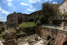 The Theatre of Marcellus in Rome, Italy Stock Photography