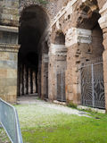 Theatre of Marcellus in Rome. View of Theatre of Marcellus in Rome Stock Photo