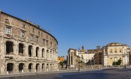 The Theatre of Marcellus Stock Images