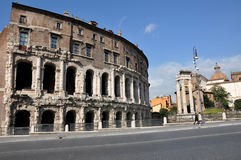 Theatre Marcellus Teatro Di Marcello włochy Rzymu Zdjęcie Royalty Free