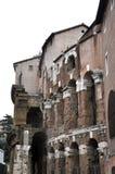 Theatre Marcellus Teatro Di Marcello włochy Rzymu Obraz Stock