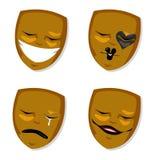Theatre maska Fotografia Royalty Free