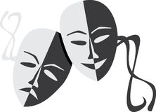 Theatre Masks Royalty Free Stock Image