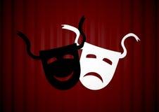 Theatre Masks Royalty Free Stock Photos