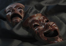 Theatre masks Royalty Free Stock Photo