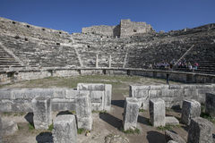 The Theatre of Miletus , Turkey Royalty Free Stock Photography