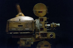 Theatre Movie Projector Royalty Free Stock Images