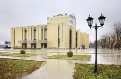 Theatre named after Ostrovsky in Kineshma. Ivanovo region. Russia Stock Photos