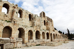 Theatre Odeon of Herodes Atticus Royalty Free Stock Photo