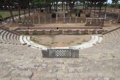 Theatre in Ostia Antica Royalty Free Stock Photos