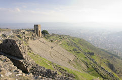 Theatre of Pergamon Stock Photos
