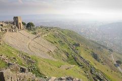 Theatre of Pergamon Stock Photo