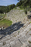 Theatre of Phaselis in Antalya, Turkey Stock Photos