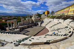 Theatre of Philippopolis Stock Images