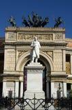 Theatre Politeama in Palermo,Sicily Stock Images