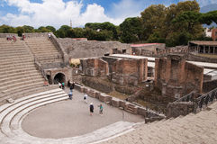 The Theatre  in Pompeii Royalty Free Stock Image