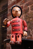 Theatre of puppets Stock Images