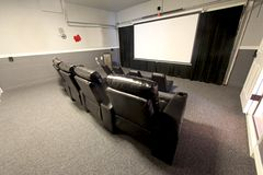 Theatre Room Royalty Free Stock Photography