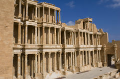 The Theatre of Sabratha Stock Images