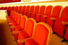 Theatre seats Royalty Free Stock Photos