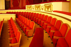 Theatre seats Royalty Free Stock Photo