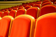 Theatre seats Stock Images
