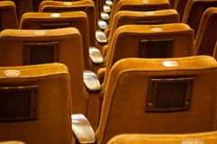 Theatre seats Royalty Free Stock Image
