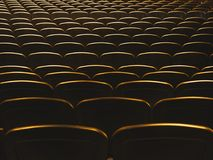 Theatre Seats Audience seat row indoor Concert hall. Pattern background stock photos