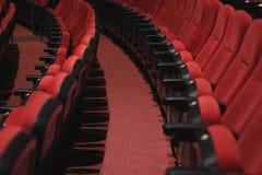 Theatre Seats. SESI`s Theatre seats in Porto Alegre, Brazil Royalty Free Stock Images